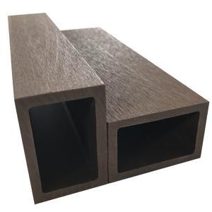 Good Hardness Wood Plastic Composite Railing / Wpc Balustrade For Outdoor Garden / Villa
