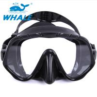 Tempered Glass Lens Silicone Diving Mask With Food Grade Liquid Silicone Skirt Manufactures