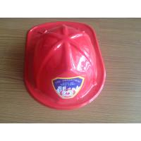 promotional gift children toy pvc red fire hat, firemen hat Manufactures