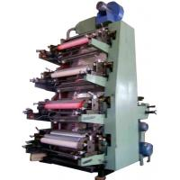 China 4 Color Flexo Printing Machine With Gear Transmission, stable on sale