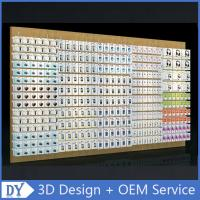 Quality Mobile phone shop interior accessories wall display,cell phone store floor standing display racks with custom size logo for sale
