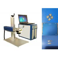 Fiber Laser Marking Machine For Stainless Steel Cheapest , Metal Marking Machine