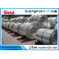 Thickness 4 - 5 Mm Steel Electrogalvanized Cold Rolled Coil , Silver 304 Stainless Steel Plate Manufactures
