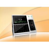4.3 Inch TFT Touch Screen Facial Recognition Time Attendance System Support Scheduled Bell , Self Inquiry Manufactures