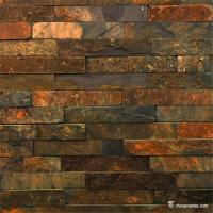 Rust Slate Ledger Stone Panels For Siding / Veneer / Cladding Decoration Manufactures