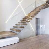 home used diy wooden floating staircase fancy timber stairs Manufactures