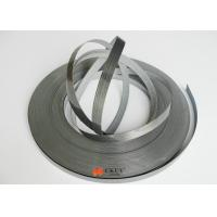 Black Oil Resistant PVC / CPE / ACR Furniture Edging Strip For Teaching Equipment Manufactures