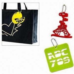 Laser-cut Felt Free-form Bag Pendant Manufactures