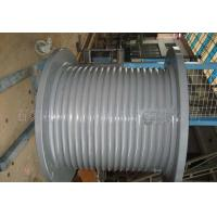 High Strength Steel Whole Winch Drum for Hoist Equipment and Towing Winch