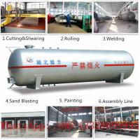 CLW brand 80m3 surface LPG gas storage tank for sale, hot sale 32metric tons bulk surface lpg gas storage tank