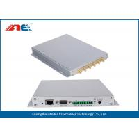 Aluminum Alloy Housing Fixed RFID Reader With 12 Channels Anti Collision Algorithm Manufactures