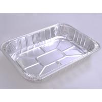 Quality Food Aluminum Foil Baking Pans Medium Size Rectangle For Meat Loaf for sale