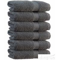 100% Cotton Luxury Highly Absorbent Hotel spa Bathroom Towel Face Towels Manufactures