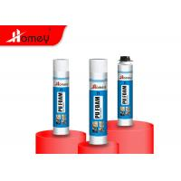 China Waterproof PU Foam Spray Sealant With Good Adhesion And Insulation For Construction on sale