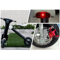 Lithium battery powered 12Ah 48V Folding Electric Bike / motorbike for Teenager for sale