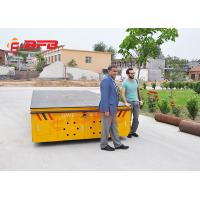 China Material Handling Trolley 100t Electric Transfer Cart Company Shipyard Equipment on sale