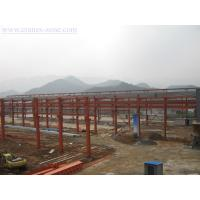 Wide Span Pre-Engineering Industrial Steel Buildings Frame , Movable Container House Manufactures
