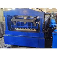 China Cargo Truck Sheet Roll Forming Machine, Cargo Container Board Rollforming Line on sale