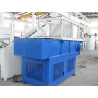 Heavy Duty Plastic Recycling Crusher / Industrial Mobile Plastic Shredder Manufactures