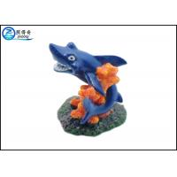 Blue Dolphin Aquarium Fish Tank Decorations With Polyresin Corals Ornaments Manufactures