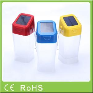 0.4W 4.5V integrated solar panel 550MAH handheld led lantern solar for emergency Manufactures