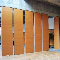 China Demountable Sliding Folding Partition Door For Training Dancing Room on sale