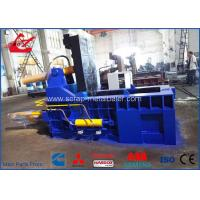 Auto Control Scrap Metal Baler / Hydraulic Scrap Baling Press For Aluminum Waste Steel Manufactures