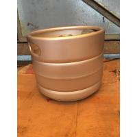 Buy cheap Craft beer keg 10L slim keg for micro brewery, home brew, with spear,A,S,D,G,M from wholesalers