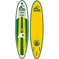 Green Inflatable SUP Board SUP11' Inflatable Fishing Sup With LOGO Customized Manufactures