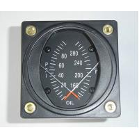 China 2, 2 1/4 Dual Oil Combine Aircraft Pressure Gauge and Tempture Guages PT2-10P30F on sale