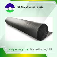 120gsm Split Film PP Woven Geotextile High Strength Slop Protection Manufactures