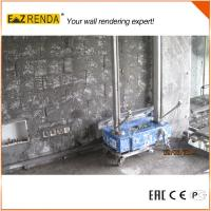 70 - 80 sqm/hour  effeciency concrete block rendering machine Manufactures