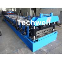 18 Forming Stations Roof Roll Forming Machine With Manual Or Hydraulic Type Decoiler / Uncoiler Manufactures
