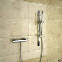 Thermostatic Shower Bar Mixer Valve with Wall Mount Handheld Shower Head Manufactures