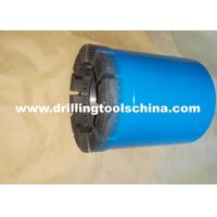 China Exploration Mining Diamond Tipped Core Drill Bits Various Waterways Design For Concrete on sale