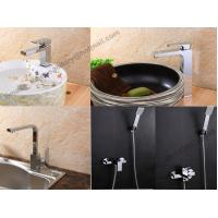 Quality Wholesale Direct chrome plated square bath shower faucet,In-wall square handle for sale