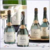 Champagne Bottle Shape Bubbles Wedding Party Anniversary Favors Manufactures
