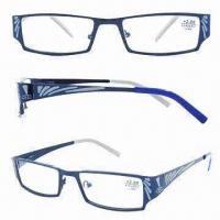 Fashionable Reading Glasses in Various Colors, Made of Stainless Steel and Plastic, for Women Manufactures