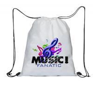 China Promotional Custom Logo Printed String Bags Sport Girls Drawstring Bag on sale