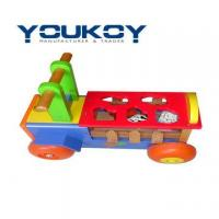 Wooden Toy Car Educational Sorting Box(WT1077) Manufactures