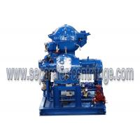 Self Cleaning Separator - Centrifuge For 4000 LPH Partial Discharge Waste Oil Recycling Plant for Ship Manufactures