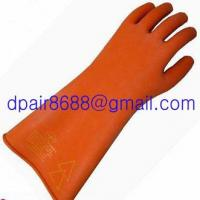 Latex Rubber Electrician Insulating Gloves Manufactures