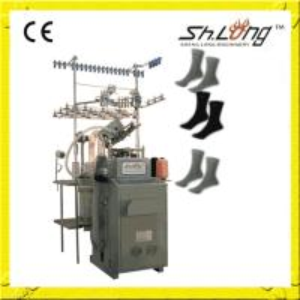 Buy cheap Shenglong 6f fully computerized socks knitting machine from wholesalers
