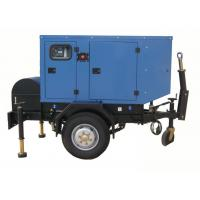 Military Truck Trailer 100kva Genset Diesel Generator cummins engine 6bt5.9 power station Manufactures