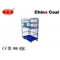 China Metal Cage Storage Roll Container Logistics Equipment Folding Roll Trolley on sale