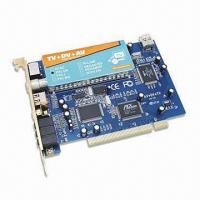 Full Channel Scan and Auto Scan Video Capture Card with Support AV/S-Video Input Manufactures