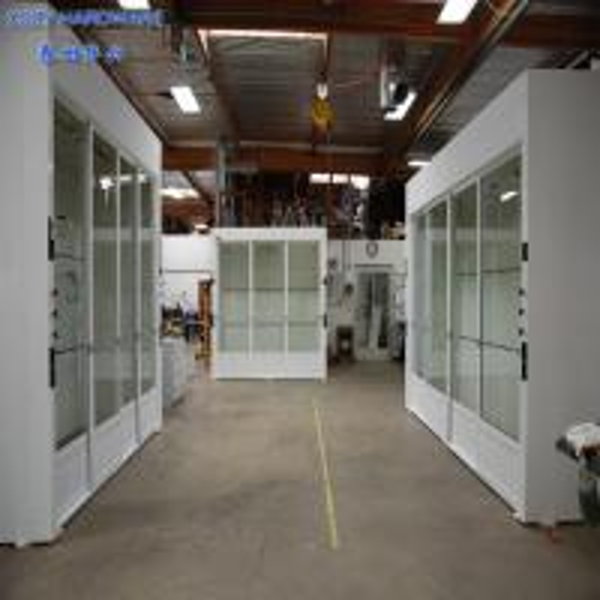 Quality Custom Made Laboratory Furniture Walk in Fume Cupboard/Fume Hood Price for sale