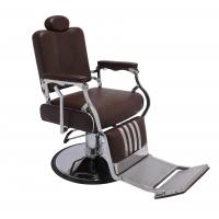 2016 hot sale comfortable recling  barber chair;hair salon equioment with stainless steel material Manufactures