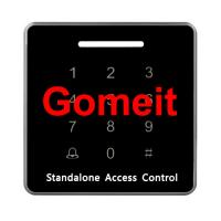 12VDC EM Card Standalone RFID Access Control 3000 Users Capacity 92 X 92 X 16mm Manufactures