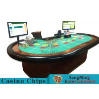 Intelligent Laser Poker Chips With RFID Control , Rectangular Poker Chips Manufactures